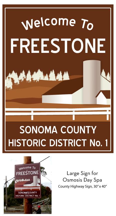 Osmosis-Freestone-Roadsign